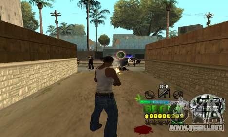 C-HUD Groove Street para GTA San Andreas tercera pantalla
