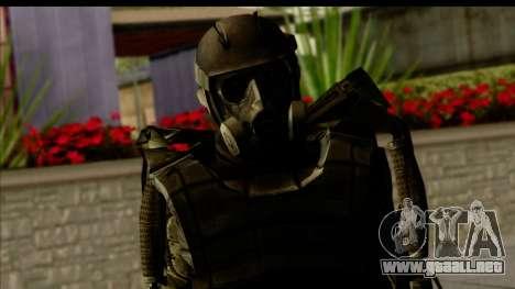 Stalkers Exoskeleton para GTA San Andreas tercera pantalla