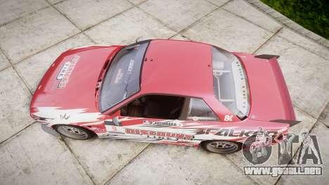 Nissan 240SX S13 D. Yoshihara HD para GTA 4 visión correcta