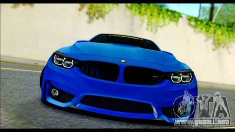 BMW M4 Stanced v2.0 para GTA San Andreas