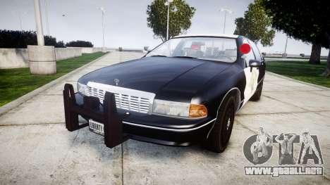 Chevrolet Caprice 1991 Highway Patrol [ELS] Slic para GTA 4