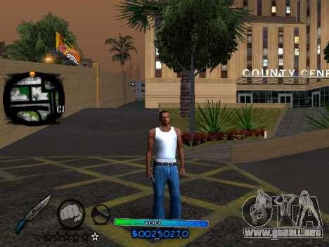 C-HUD COOL para GTA San Andreas tercera pantalla