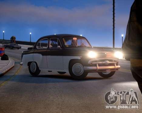 Moskvich 407 para GTA 4 left