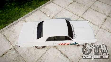 Pontiac GTO 1965 united para GTA 4 visión correcta