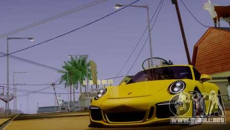 ENBSeries para PC débil v4 para GTA San Andreas segunda pantalla