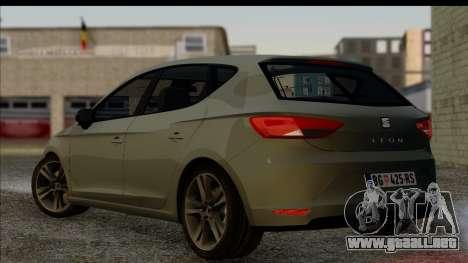 Seat Leon Fr 2013 para GTA San Andreas left