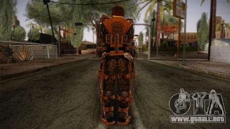 Freedom Exoskeleton para GTA San Andreas segunda pantalla