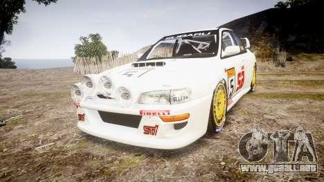 Subaru Impreza WRC 1998 v4.0 SA Competio para GTA 4
