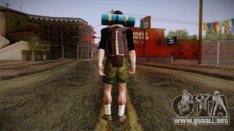 GTA San Andreas Beta Skin 18 para GTA San Andreas segunda pantalla