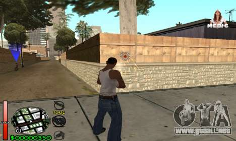 С-HUD Medic para GTA San Andreas segunda pantalla