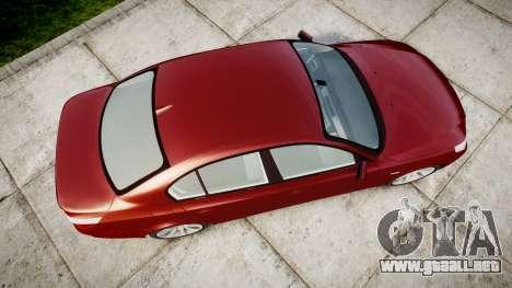 BMW 525d E60 2006 para GTA 4 visión correcta