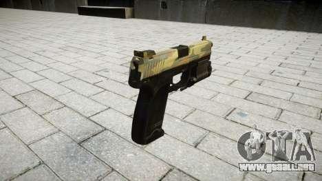 La pistola HK USP 45 flora para GTA 4 segundos de pantalla