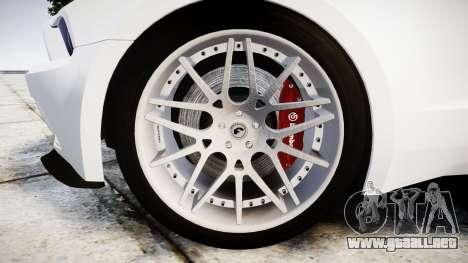 Ford Mustang GT Tobey Marshall para GTA 4 vista hacia atrás