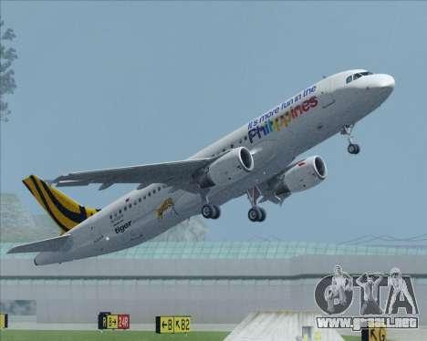 Airbus A320-200 Tigerair Philippines para GTA San Andreas