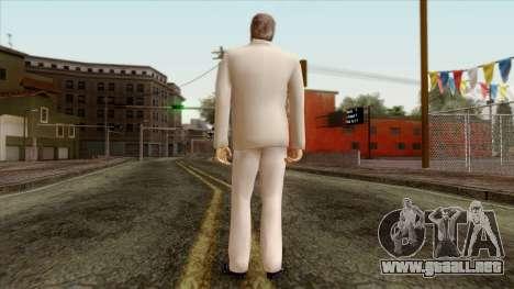 LCN Skin 1 para GTA San Andreas segunda pantalla