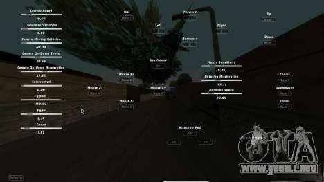 CumHunt - plugin de video para GTA San Andreas segunda pantalla
