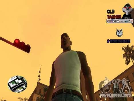 C-HUD Cesar Weezy para GTA San Andreas tercera pantalla