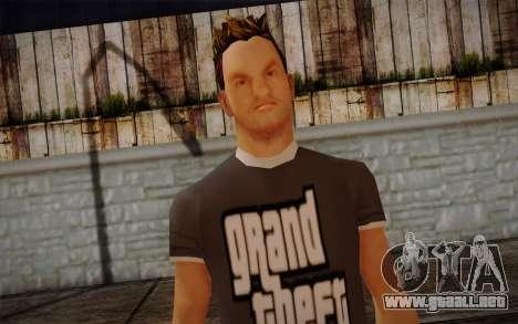 Ginos Ped 21 para GTA San Andreas tercera pantalla