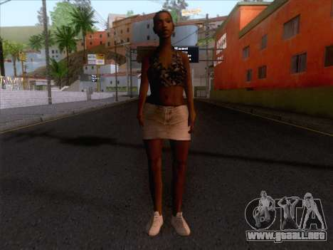 New Ballas Skin 3 para GTA San Andreas