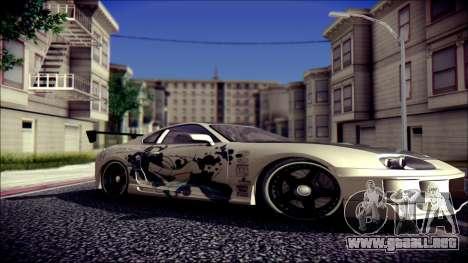 Toyota Supra Street Edition para la visión correcta GTA San Andreas
