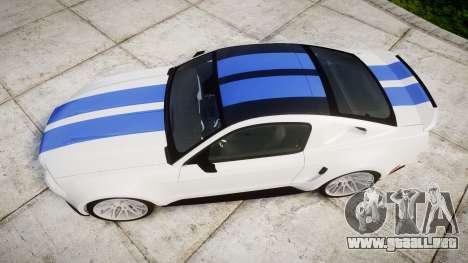Ford Mustang GT Tobey Marshall para GTA 4 visión correcta