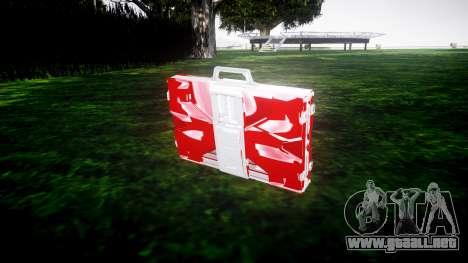Iron Man Mark V Briefcase v1.1 para GTA 4