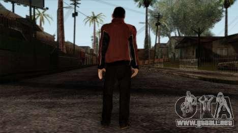 GTA 4 Skin 14 para GTA San Andreas segunda pantalla