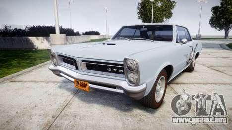 Pontiac GTO 1965 skull para GTA 4