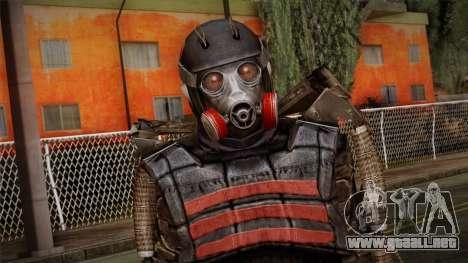 Duty Exoskeleton para GTA San Andreas tercera pantalla