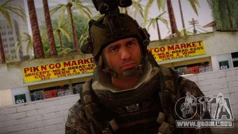 Modern Warfare 2 Skin 5 para GTA San Andreas tercera pantalla