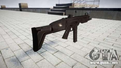 Pistola de SMT40 para GTA 4 segundos de pantalla