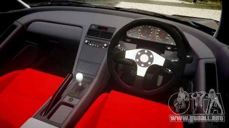 Honda NSX-R NA1 1992 [EPM] para GTA 4 vista interior