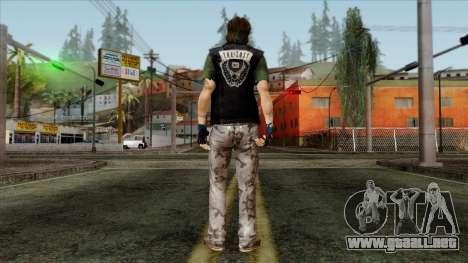 GTA 4 Skin 9 para GTA San Andreas segunda pantalla