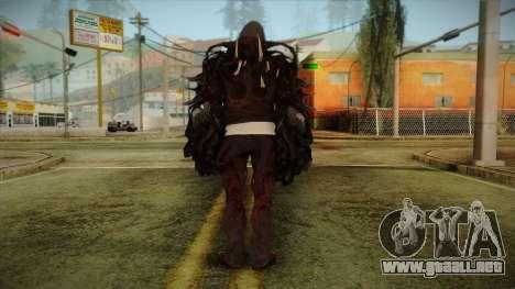 Alex Boss Hammerfist from Prototype 2 para GTA San Andreas segunda pantalla