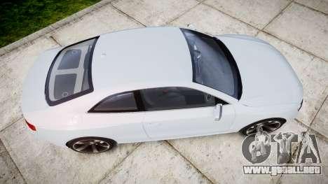 Audi RS5 2012 v2.0 para GTA 4 visión correcta