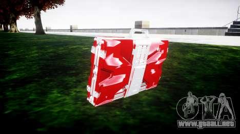 Iron Man Mark V Briefcase v1.1 para GTA 4 segundos de pantalla