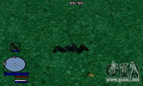 C-HUD Normal para GTA San Andreas segunda pantalla