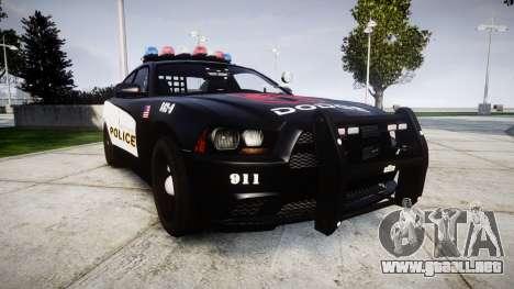 Dodge Charger STR8 LCPD [ELS] para GTA 4