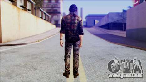 Joel from The Last Of Us para GTA San Andreas segunda pantalla