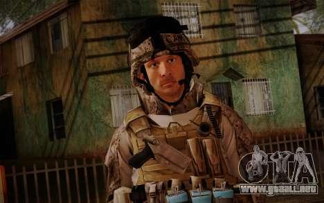 Campo from Battlefield 3 para GTA San Andreas tercera pantalla
