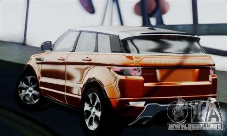 Range Rover Evoque 2014 para GTA San Andreas left