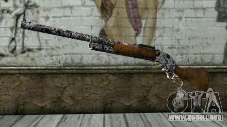 Nuevo Rifle para GTA San Andreas