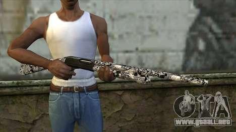 Nueva Escopeta para GTA San Andreas tercera pantalla