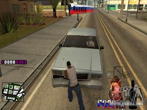 C-HUD RussiA para GTA San Andreas segunda pantalla