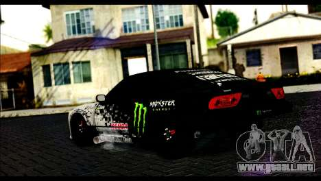Nissan 180SX Monster Energy para GTA San Andreas left