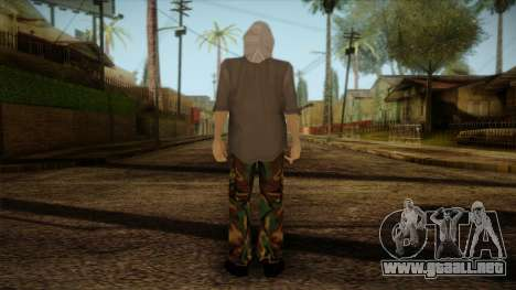 Varg Vikernes Skin para GTA San Andreas segunda pantalla