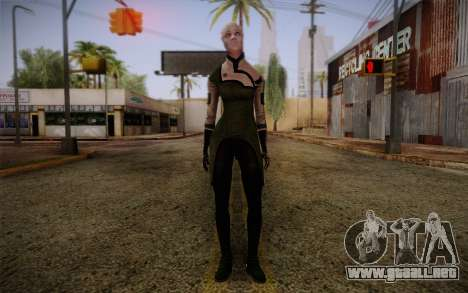 Liara T Soni Scientist Suit from Mass Effect para GTA San Andreas