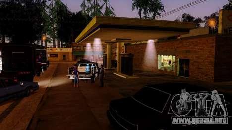 La recuperación de las estaciones de Los Santos para GTA San Andreas quinta pantalla