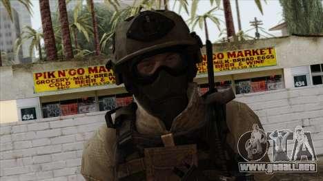 Modern Warfare 2 Skin 15 para GTA San Andreas tercera pantalla