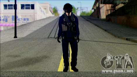 Chinese Jet Pilot from Battlefield 4 para GTA San Andreas